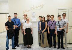 Семинаристы посетили Культурный центр им. А.С. Пушкина