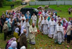 Проректор и студенты семинарии приняли участие в освящении храма в Йошкар-Олинской епархии