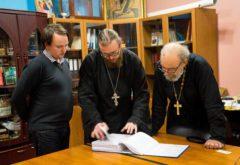Комиссия Учебного комитета провела аттестацию курсов повышения квалификации духовенства