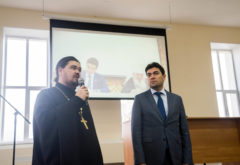 Состоялась встреча администрации и студентов семинарии с ректором Болгарской исламской академии