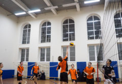 В Казанской семинарии состоялось открытие волейбольного турнира