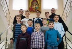 Учащиеся школы алтарников при храме Сошествия Святого Духа посетили Казанскую семинарию