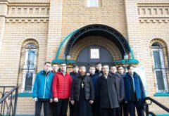 Учащиеся подготовительного отделения посетили храм преподобного Сергия Радонежского