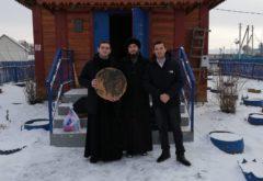 Учащиеся семинарии приняли участие в престольных торжествах Введенского храма в Тюлячинском районе