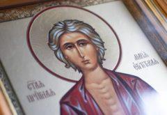 «Мариино стояние»: богослужение с чтением Великого канона состоялось в храме духовной школы