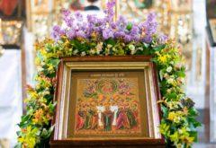 Духовная школа встретила праздник Вознесения Господня
