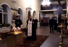 В храме духовной семинарии молились об упокоении новопреставленного преподавателя Р. М. Айзатуллова
