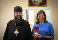 Преподавателей Казанской семинарии наградили памятным знаком «100 лет образования Татарской АССР»