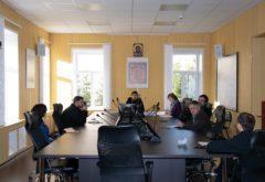Состоялось заседание кафедры общей и церковной истории