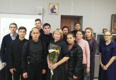 Учащиеся встретились с руководителем общественной организации родителей детей-инвалидов