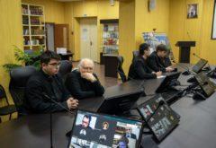 Учащиеся семинарии приняли участие в вебинаре Студенческого литургического общества Санкт-Петербургской духовной академии