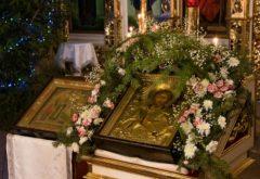 Богослужения в день празднования Обрезания Господня и памяти святителя Василия Великого состоялись в храме семинарии