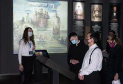 Студенты семинарии посетили мультимедийный парк «Россия — моя история»