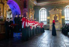 Смешанный хор семинарии принял участие в Пасхальном фестивале хоровых коллективов