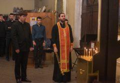 В духовной семинарии помолились о жертвах теракта в гимназии №175