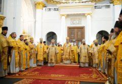 Члены администрации, преподаватели и студенты семинарии приняли участие в молитвенных торжествах по случаю празднования Собора Казанских святых